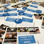 In just 4 hrs, #WWU students have signed over 100 thank you cards to donors. Thanks Vikings- you rock! #WesternGives http://t.co/PmWx1fk3b6