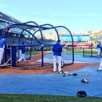 RT @Royals: #WorldSeries Game 2 BP underway. #TakeTheCrown #Royals http://t.co/nTKklF48oB