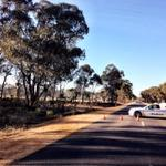 Am at Wedderburn this morning after last nights triple shooting, expecting an update from police in next half hour http://t.co/SLrEHNFNBN