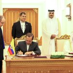 RT @CancilleriaEc: #Ecuador y #Qatar afianzan sus relaciones en el ámbito comercial http://t.co/77grY6UUm5 #GiraPresidencial http://t.co/fHcfdlz6mb