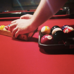 An indoor place w/ games, pool, food, and beer in #KendallSquare? There's NO BETTER spot to be on a rainy night! http://t.co/9OxVTrey1S