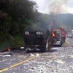 Sospechosos hicieron estallar blindado durante un asalto http://t.co/QbivcT9mLY /El Comercio #Ecuador #Reventador http://t.co/qniHa6k441