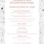 10.30.14 is the day @Topshop & @Topman open in #SanDiego at #FashionValley! #topshoptopmanSD http://t.co/u6LF3dAsMJ