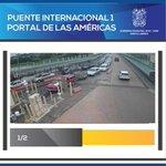Así se encuentra el Puente Internacional No. 1 en estos momentos. #PuentesInternacionales #NuevoLaredo #Tamaulipas http://t.co/8hBMlDtLqJ