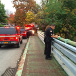 RT @ithacavoice: Breaking: Responders have been called to the gorge beneath the Stewart Avenue Bridge #twithaca http://t.co/YiHcVEK6MG http://t.co/8hgJi9KGfS