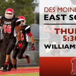 RT @DMschools: Tomorrow come to Williams Stadium to honor our Scarlets seniors, and support @DsmEast and our community. http://t.co/BCU5U9BhGW