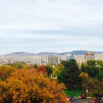 Beautiful fall day in the #boise valley #RedSkySummit http://t.co/e3yad1rtnF