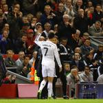 """""""@TheSunFootball: PICTURE: Cristiano Ronaldo salutes the Liverpool fans after being cheered off at Anfield. Class. http://t.co/nZnFSL8rpR"""""""