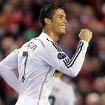 RT @realmadrid: Ronaldo iguala a Raúl como máximo goleador de la Copa de Europa http://t.co/QBvE3sqZsL #LIVvsRealMadrid #HalaMadrid http://t.co/SZwuusKgpP