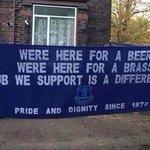 Everton banners going to Lille #EFC http://t.co/uuBKWIiJTX