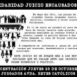 RT @DiariodeVurgos: Concentración en solidaridad con los encausados del movimiento 15M tras la investidura de Javier Lacalle #Burgos http://t.co/JGQVD5NlRU