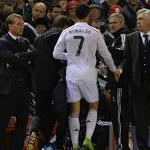 """RT @marca: Ancelotti: """"A Cristiano hay que quitarle sin perguntarle"""" http://t.co/wrBqg0rj9N http://t.co/ftncjTmH9Z"""