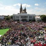 #QueVivanLosEstudiantes q en las calles de Guadalajara hacen sentir su dolor e indignación y exigen #43ConVidaYa! http://t.co/tpBQjQyriI