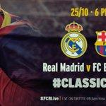 RT @FCBarcelona_es: VÍDEO - Ha empezado la cuenta atrás del Clásico http://t.co/oUbKex1SAw http://t.co/jvgfCw8JyV