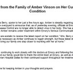 RT @NBCNightlyNews: JUST IN: Family of Dallas nurse Amber Vinson says hospital and CDC no longer able to detect Ebola virus in her body http://t.co/L2kjpPlSBQ