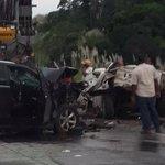 .@GolemW envía foto del accidente en Autopista Panamá - Colón http://t.co/lWSCVByZqG @tvntrafico