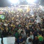 #Aecio45PeloBrasil RT @jc_pe: Militância lota o marco zero do Recife em ato de apoio a Aécio Neves (PSDB) http://t.co/wrW752qoOJ