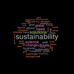 RT @Martin_Ecology: Great first day at #iaru2014 today. Here are the top50 buzzwords of todays twitter tweets (N=1892) @GlobChallenges http://t.co/wmU655zRu6