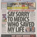 RT @LabourEoin: Wow. Cancer Survivor demands @Jeremy_Hunt apologises to NHS Heroes in Wales who saved his life for smearing their NHS http://t.co/xQaSor6JPj