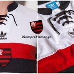 A @adidasfutebol lançou uma nova camisa retrô do @Flamengo. Está disponível no site oficial da Adidas! Preço: R$ 299 http://t.co/XCHpaJD4e6