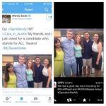 Must See Picture! Wendy Davis fakes support with fake friends! @gusportela @WendyDavisTexas @deborahbirch @CRFV http://t.co/Q0AZstV6e1