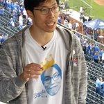RT @MLB: .@Royals superfan @Koreanfan_KC is back for Game 2. #WorldSeries http://t.co/Ft1cATLRCi