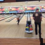 Great form by @AJKanell, still warming up at Spare Time in Colchester. Come bowl for just $10! http://t.co/DT4UqDdXhP
