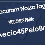 RT @rafasoli: GALERA MUDAMOS A TAG. AGORA É: #Aecio45PeloBrasil chega de #AecioPeloBR45IL http://t.co/BGWUUlymJM