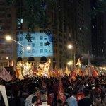 Cinelândia tá lotada, é um mar de gente! #QueroDilmaTreze http://t.co/KXGKHB3R8B
