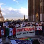 #GALERÍA Solidaridad en México y el mundo por desaparición de normalistas de #Ayotzinapa http://t.co/34Us4RdlhW http://t.co/WYbKWHU3nd
