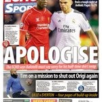 Apologise! Watch @JamesPearceEcho on why @FinallyMario must say sorry for shirt swap http://t.co/69Fuj5qPx9 #LFCVSRM http://t.co/SbwsvVuo93