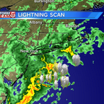 RT @MetMikeWCVB: Expect thunder tonight. Off shore seeing over 300 lightning strikes in the last 1/2 hour. #wcvb http://t.co/03O5c8f65V