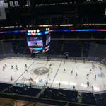 Time for warmups here at @FirstNiagaraCtr! #onegoal http://t.co/l3IEftKgNl