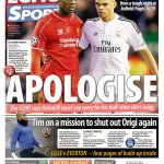 RT @PhantomGoal: Journalism. Didnt hear James Pearce demanding Lovren apologise for costing us game after game this season. http://t.co/XjaGyzogat
