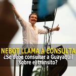 . @jaimenebotsaadi quiere que su pueblo se pronuncie respecto al tránsito en #Guayaquil » http://t.co/b0X0OOtOt4 http://t.co/YyIlU4trsD