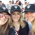 The day is here, playing defending champs ND! #GoIU #1MillIU also love the hats! http://t.co/kzgNFTwCEG