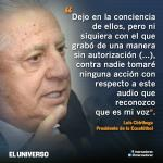 Luis Chiriboga no tomará acciones legales por audio del proyecto de Liga del fútbol http://t.co/nDKdzaLv4a http://t.co/uDVn20kxkq