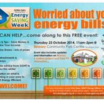 Set up @ Bewsey Community Park for @GGHTrust Energy Saving Week Lets help people save on fuel bills #GGHTESW #BESN14 http://t.co/KPxgws8sZb