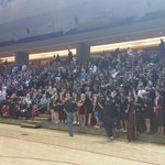 Students fully into some state championship volleyball action. Porter Gaud vs First Baptist http://t.co/XqhZS1sVmX