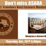 "RT @ASADAfood: #Greenville Dont miss Dinner 5:30 Tomorrow Night at ""Travelers Rest Farmers Market"" @TRFM14 for the FIRST TIME!! http://t.co/arJjJ0fiSb"