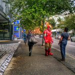 RT @VancityBuzz: Iron Man spotted in downtown #Vancouver http://t.co/WyF5aXsWrJ http://t.co/li2VbhwOZf