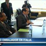 RT @tvnnoticias: Comisión de Relaciones Exteriores ratificó designación del nuevo embajador de Panamá en Italia, Fernando Berguido. http://t.co/esusGYaX8w