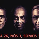 RT @c_vicente1965: Chico, Gil e Caetano c/ Dilma! É mto amor e mta garra envolvidos! #13rasilTodoComDilma http://t.co/T3EsXntYiE #13rasilTodoComDilma