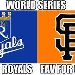 RT @MLBMeme: #WorldSeriesGame2 coming up! RT for #Royals FAV for #SFGiants http://t.co/yyk5jmUmDh