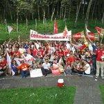Alunos da UFPB, CCA de Areia-PB, se mobilizaram em uma caminhada pró-Dilma pelas ruas históricas #13rasilTodoComDilma http://t.co/muNq0LlYta