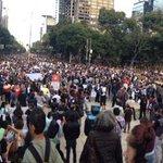 Lleno en el Ángel: Acción global por #Ayotzinapa #JusticiaParaAyotzinapa #EPNBringThemBack @sopitas http://t.co/tBInngVTie