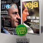 RT @OiMakno: Aécio cada vez mais parecido com Collor: agora, ele aparece na capa de uma revista semanal. http://t.co/KKdwg7icAz