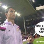 El hijo del Diputado Portillo acompaño hoy a Cristiano Ronaldo.. http://t.co/04nTtGNblJ