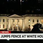 Breaking News: A person made it over the White House fence tonight and was detained by Secret Service http://t.co/MJQZt8dQmV