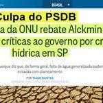 RT @GringaBrazilien: Quem Culpa o PSDB do Aécio pela falta dágua em SãoPaulo é a ONU.#13rasilTodoComDilma Leia> http://t.co/j38XWjzxdR http://t.co/8ZYDf20x8W